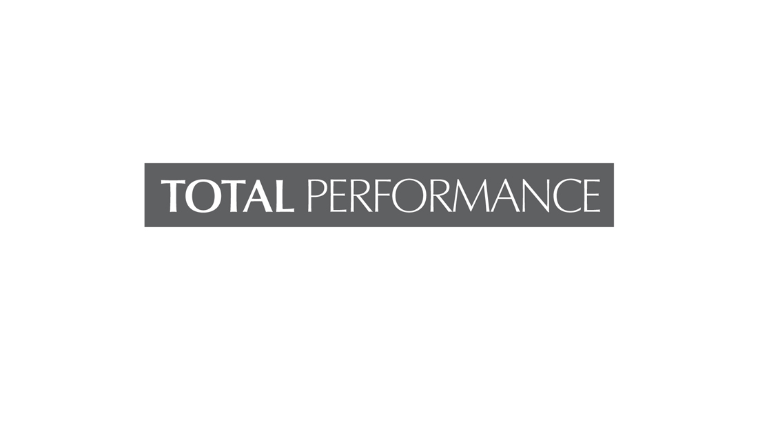TOTAL PERFORMANCE LOGO - Sawyer Design Vision - Estée Lauder