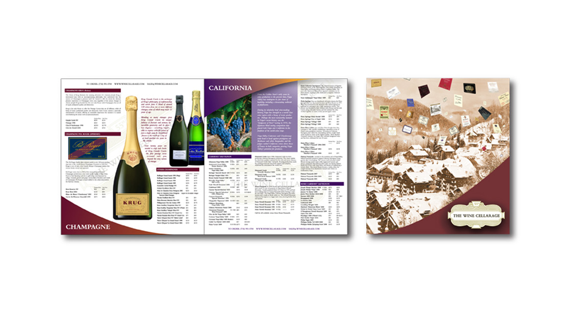 16-PAGE CATALOG - Sawyer Design Vision - Wine Cellarage